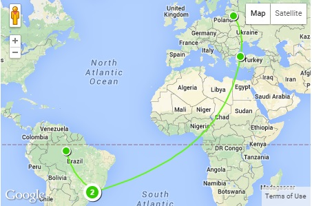 Find Us On A Map Our Small Adventure - Us on the map